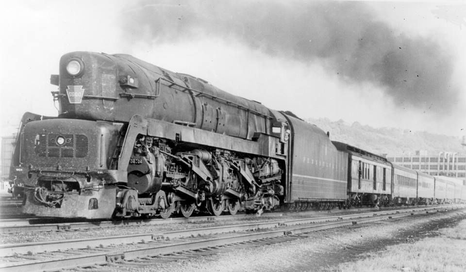 Image result for pennsylvania railroad t1