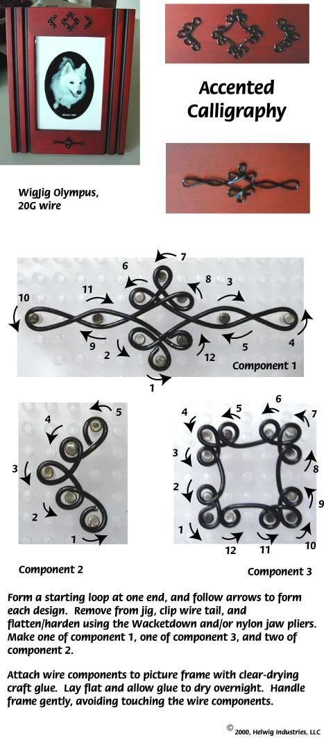 Frames Wire jig, twisted wire | WigJig Patterns & Toots | crafts ...