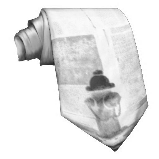 Old Abandon Building Negative Neck Ties • This Design Is