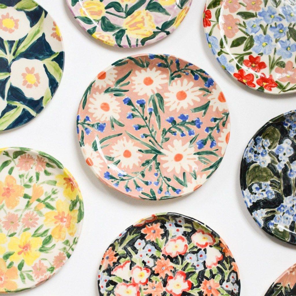 15 Gorgeous Ceramic Ideas To Inspire You Shihori Obata Pottery Painting Designs Handmade Ceramics Ceramic Painting