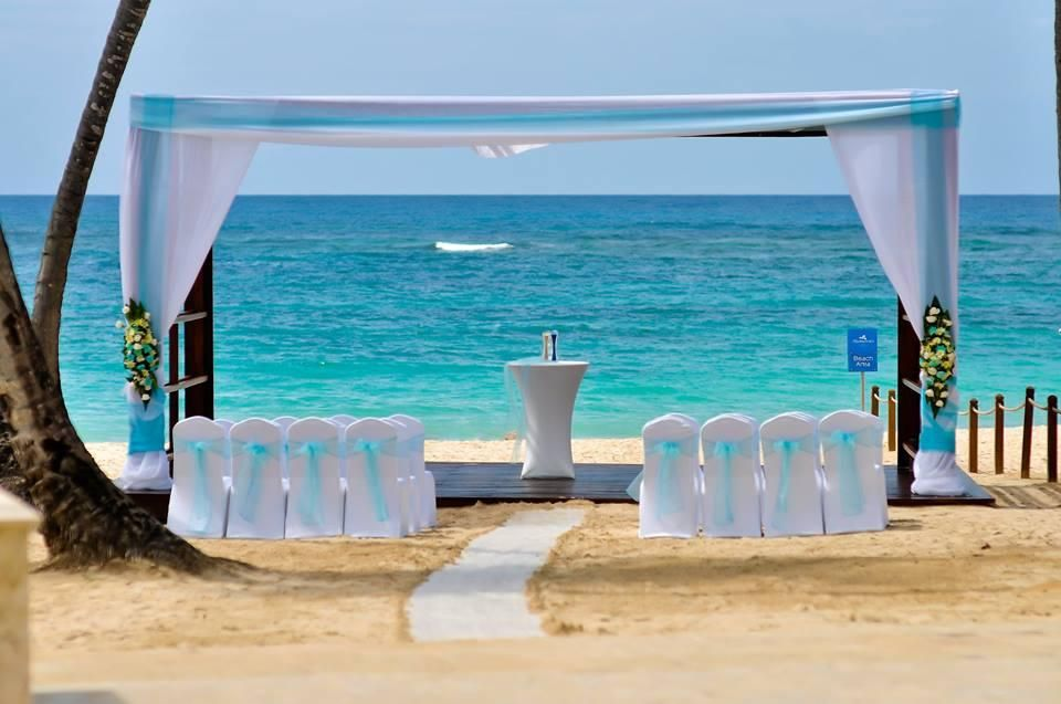 Royalton Punta Cana Beach Wedding Gazebo