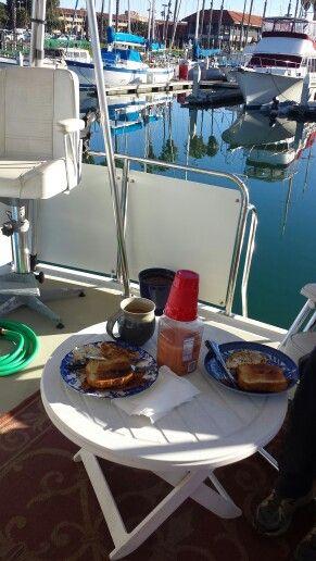 Breakfast in the Backyard