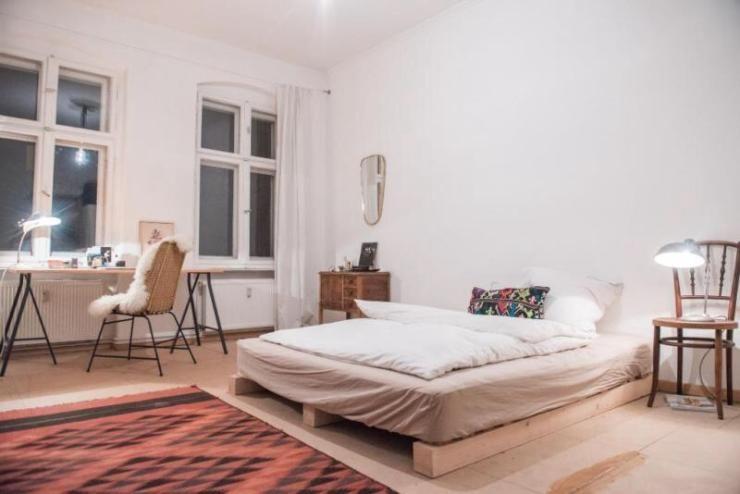 Schlafzimmer Berlin ~ Gemütlich eingerichteter schlafbereich in altbauwohnung berlin