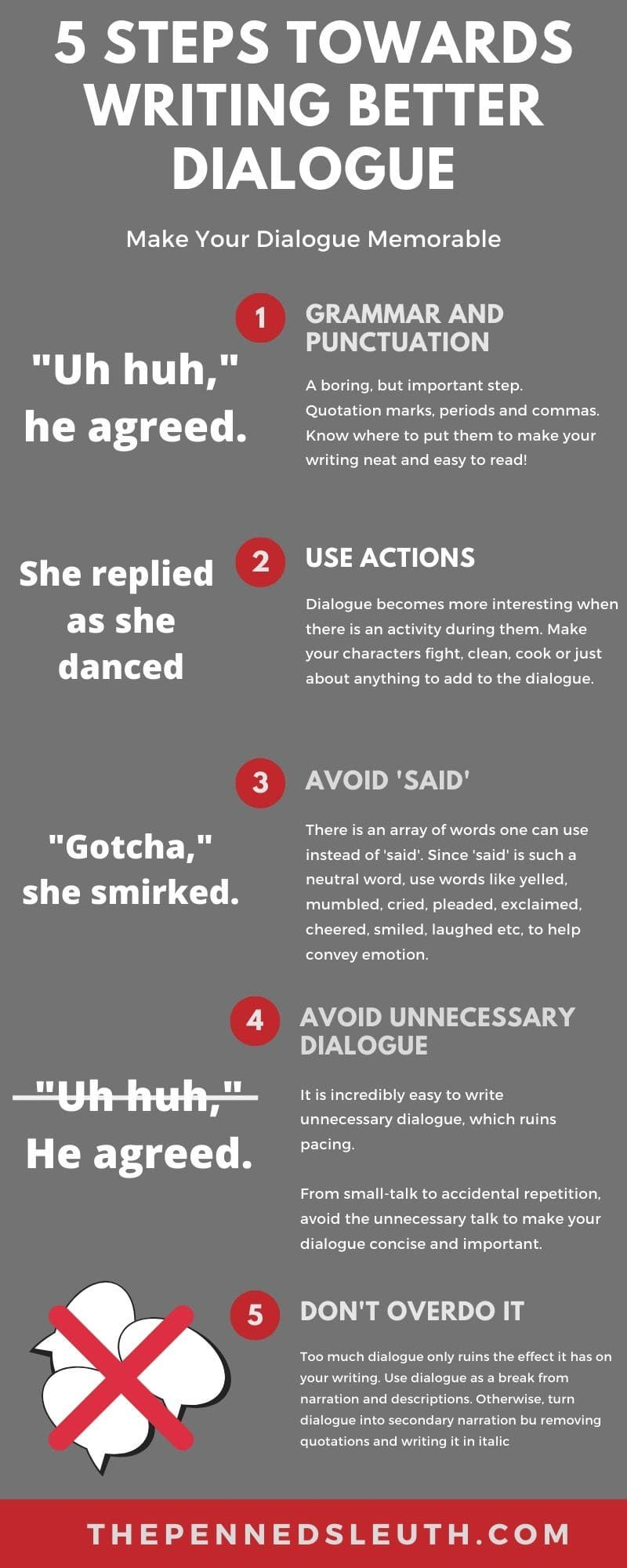 How You Can Write Better Dialogue in 13 Steps  Book writing tips