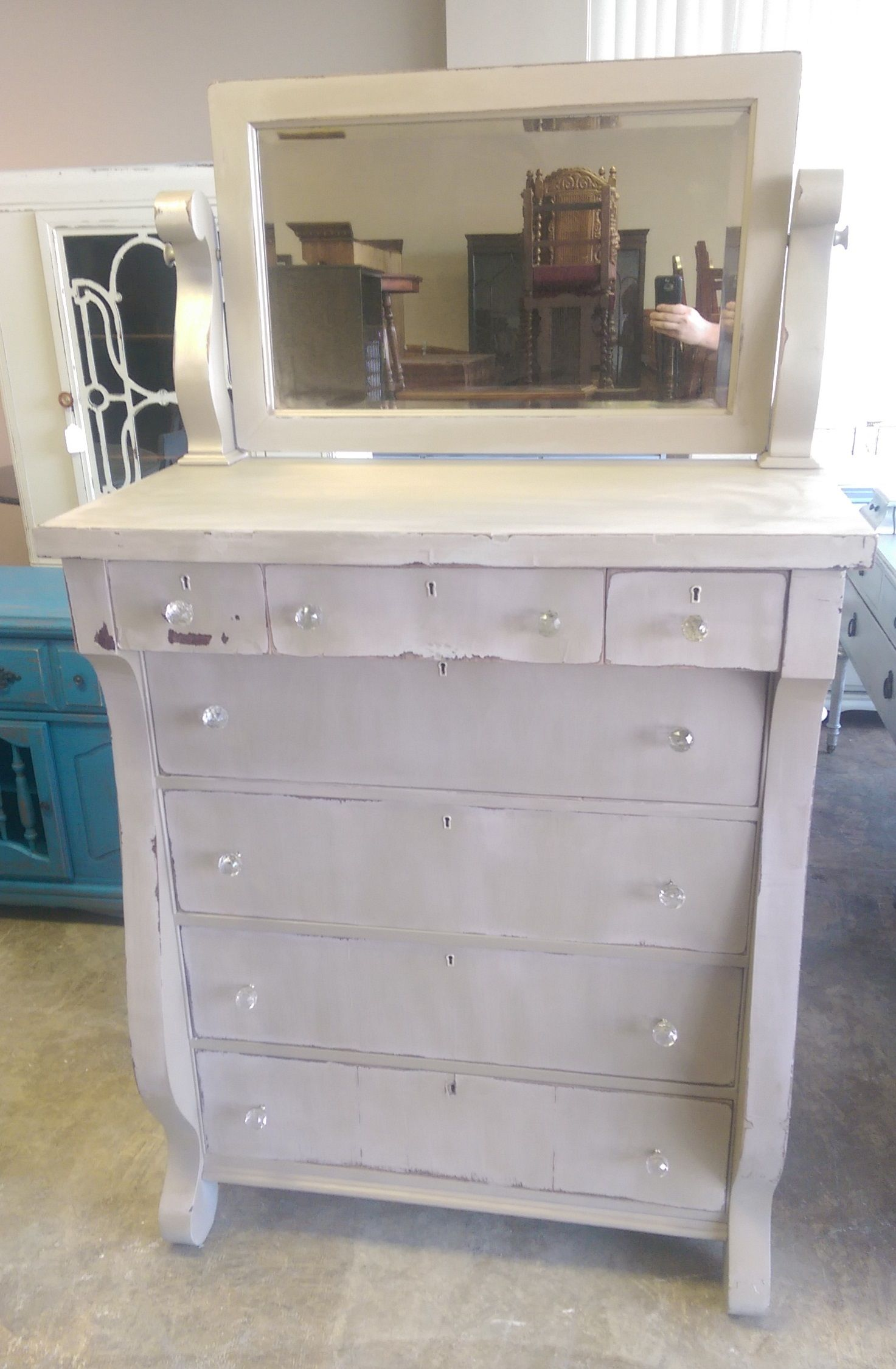Outstanding Pin By Virginia St John On Antiques Shabby Chic Chest Of Interior Design Ideas Helimdqseriescom