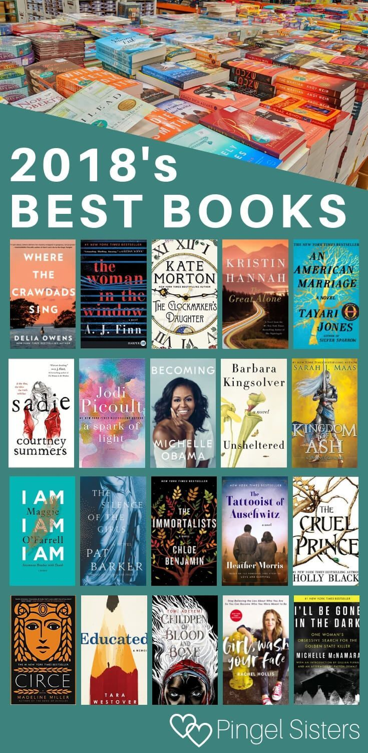 Best Books 2018: This Year's Most Popular New Releases