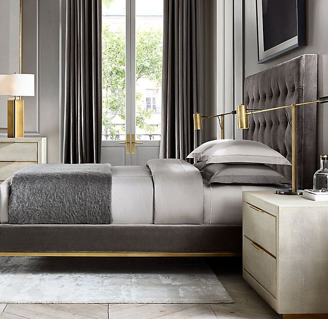Rh S Cela Shagreen 6 Drawer Dresser Refined And Sophisticated Modernist Cela Takes Inspiration Luxury Bedroom Master Master Bedrooms Decor Luxurious Bedrooms