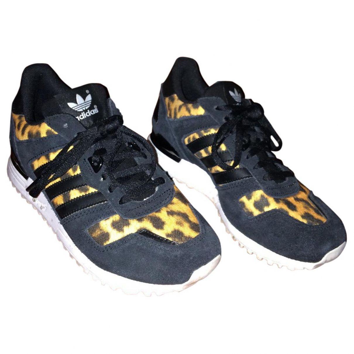 Adidas Zapatillas adidas estampado de leopardo estampado de leopardo, formadores y