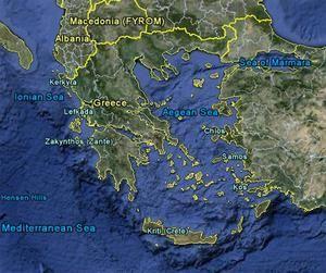 Aegean Sea Aegean Sea With Modern Borders Taken From Google