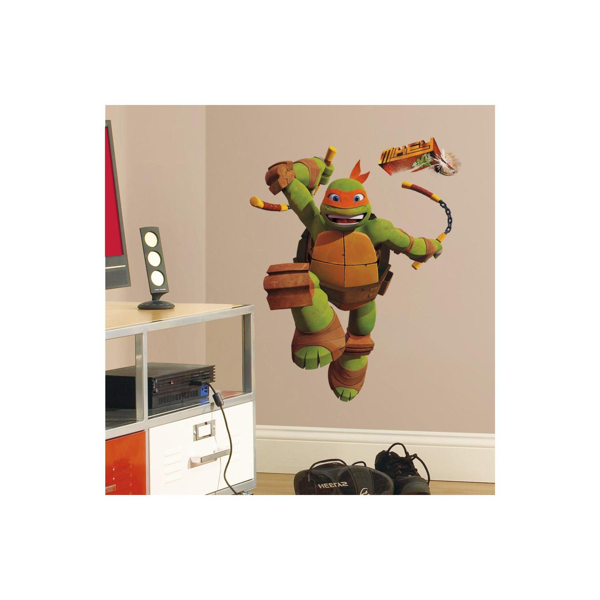 Roommates Teenage Mutant Ninja Turtles Mike Peel Stick Giant