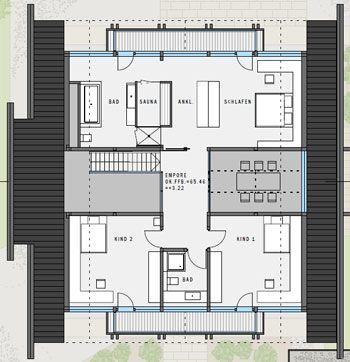 Huf Haus Grundriss obergeschoss huf grundriss huf house and modern