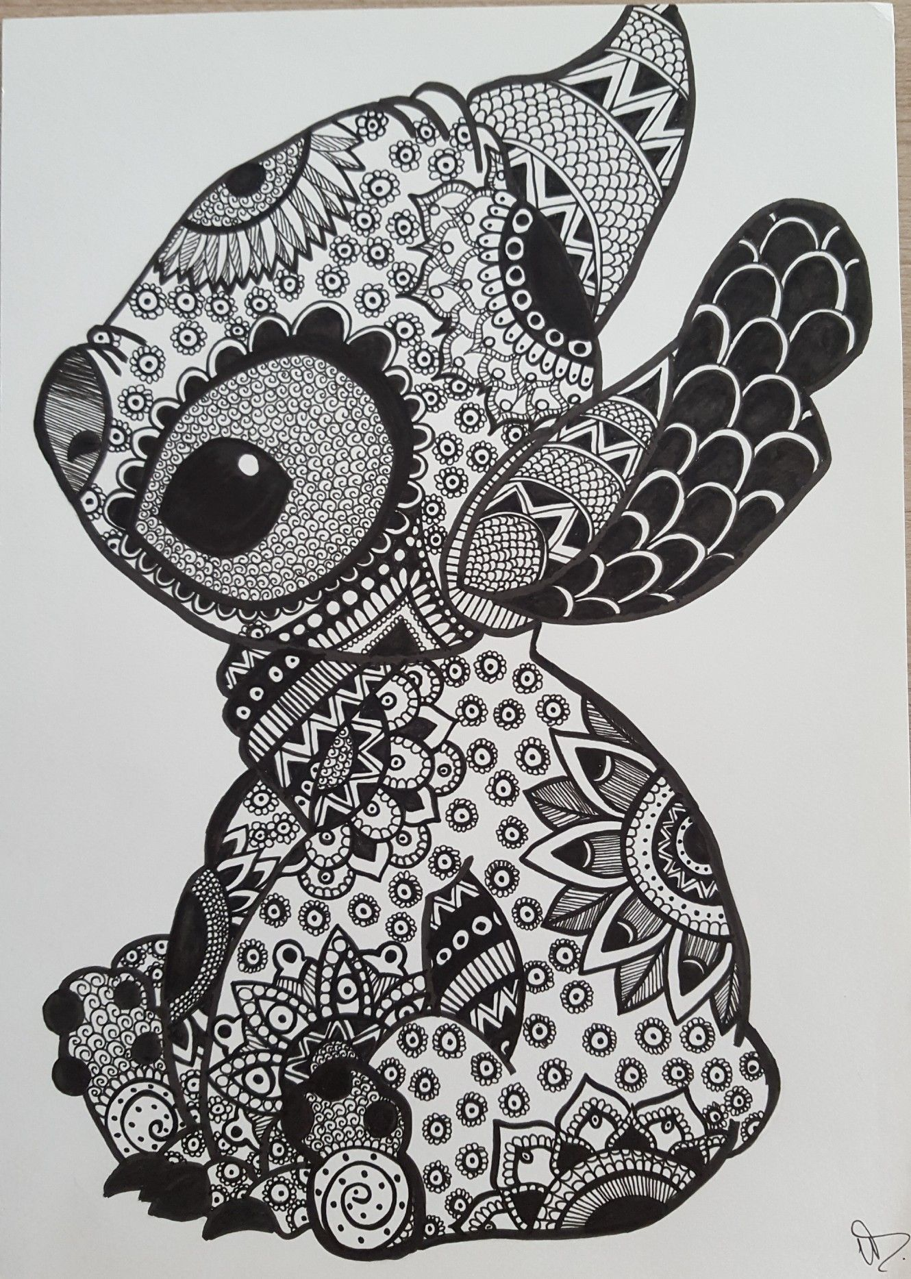 Stitch  Disney stitch tattoo, Stitch disney, Stitch coloring pages