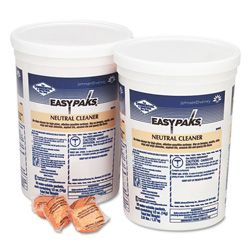 Neutral Floor Cleaner Packets, .5 Ounce Paks 2 Tubs Per Case.90 Packets Per Tub.