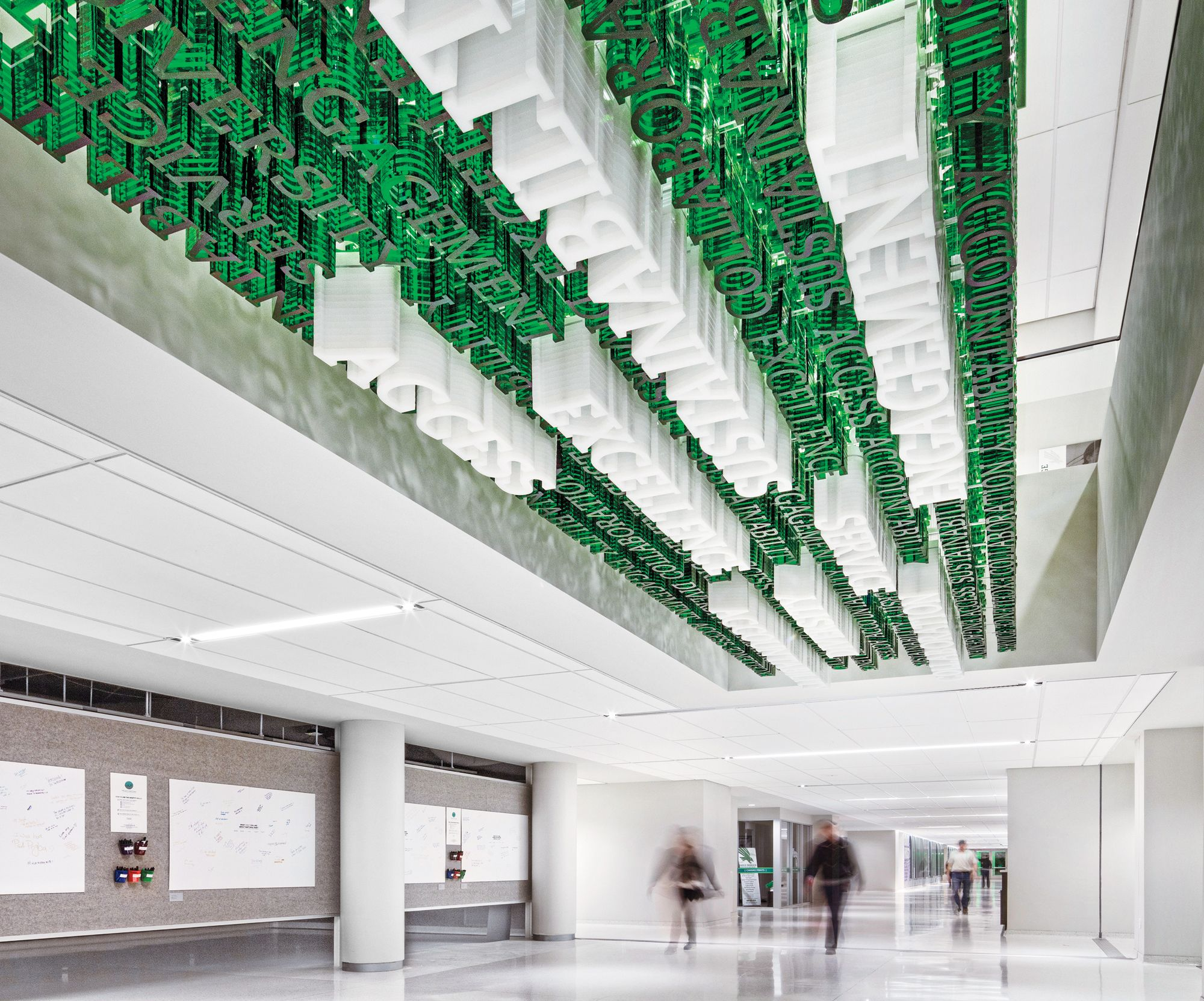 UNT Student Center by Perkins Will: 2016 Best of Year Winner for Mixed Branding/Graphics