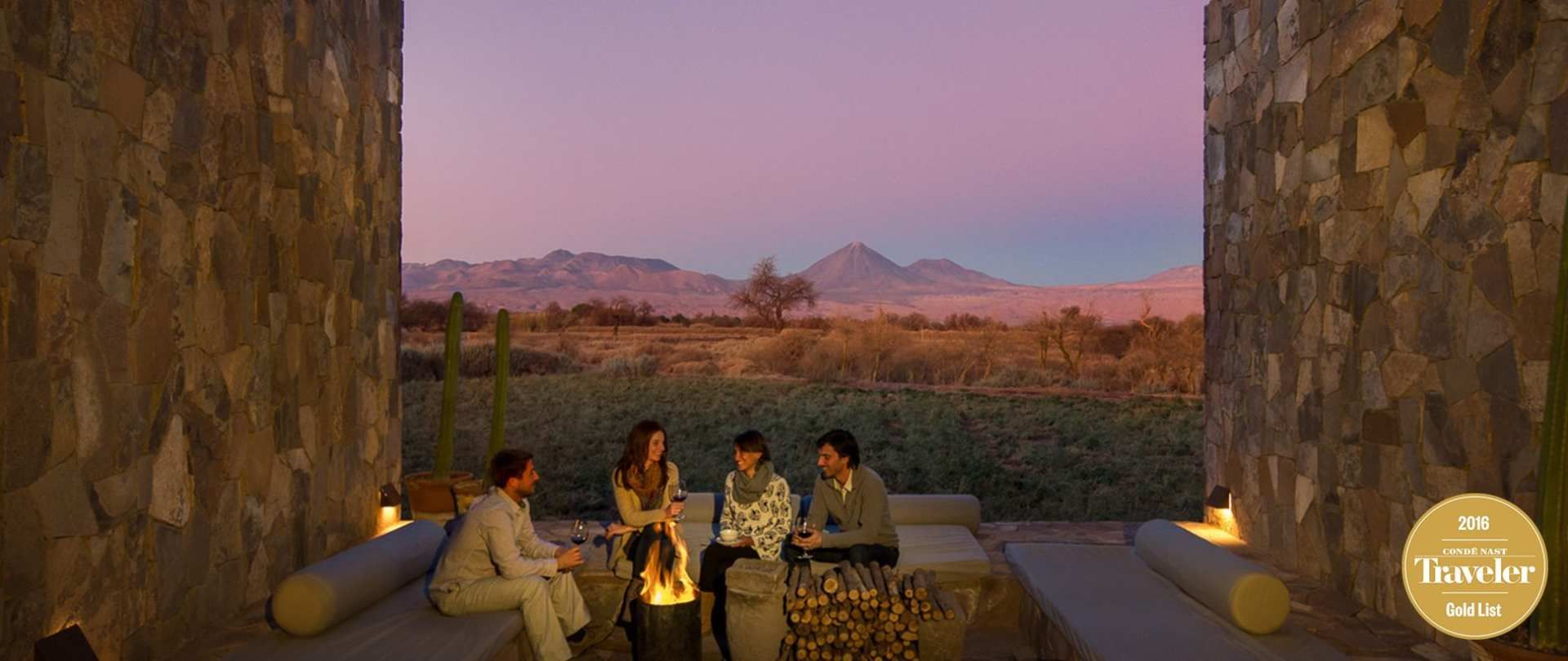 An Exclusive Lodge In The Atacama Desert With Personalized Excursions And Service Sumptuous Spa Treatments Volcano Room Views Stargazing