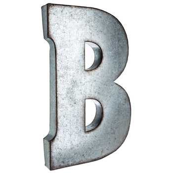 Large Galvanized Letters Sale Silver Galvanized Metal Letter Large 20Michellediazphoto