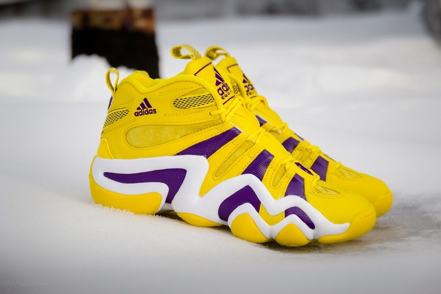 check out 83a5f f9ad1 adidas Crazy 8 Lakers