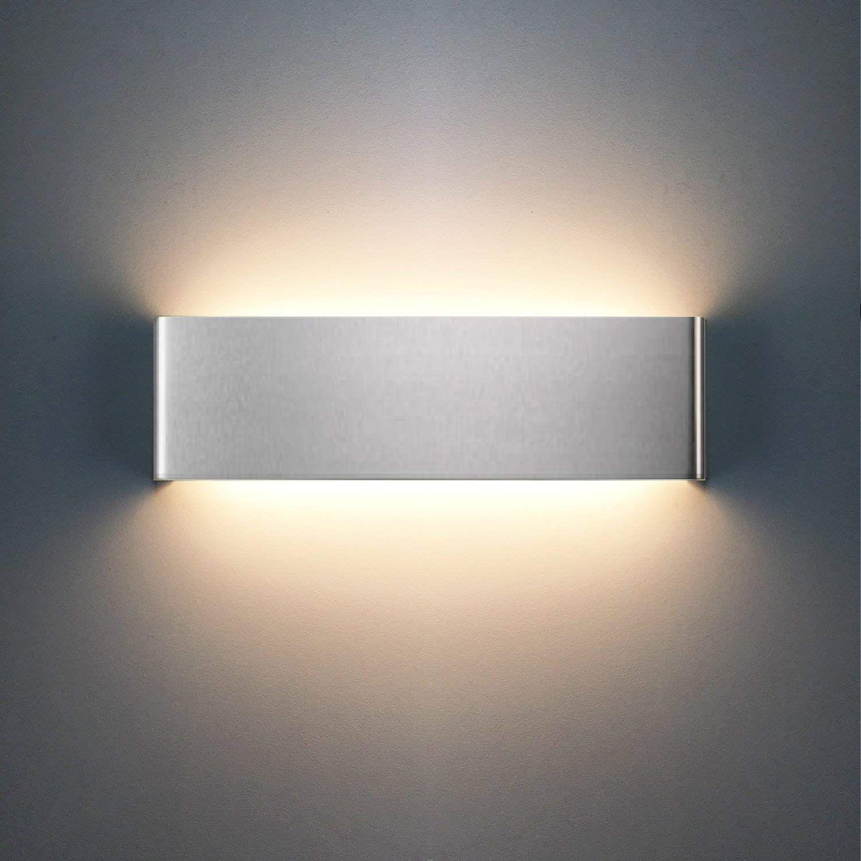 XIAJIA-12W LED Lampada da Parete Applique da Parete con Stile ...