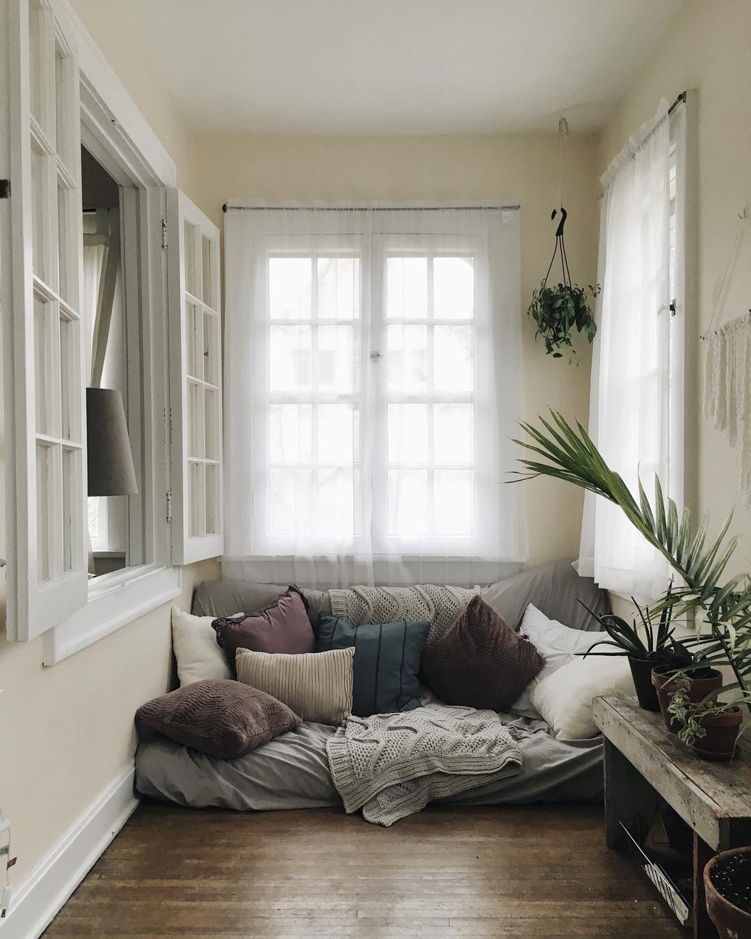 a couch on the ground furniture designs reading nooks | New ...