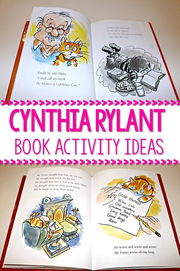 Cynthia Rylant books for children classroom activities  Favorite