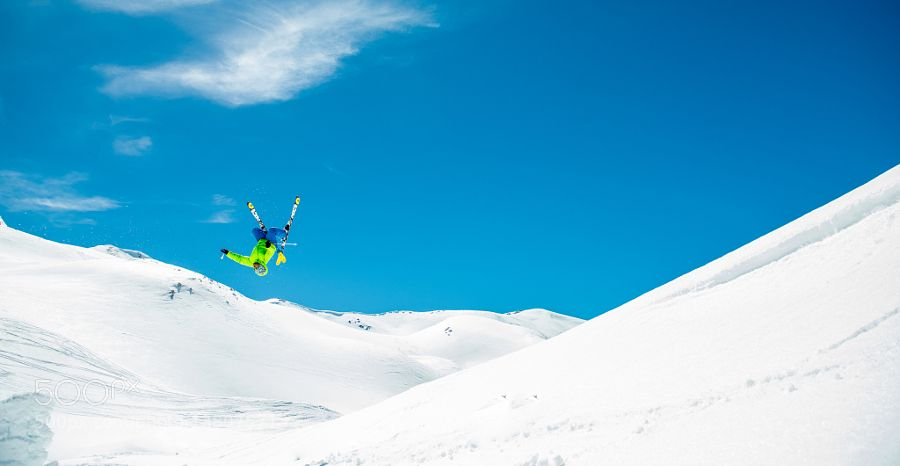 Backcountry back flip... by ericverbiest