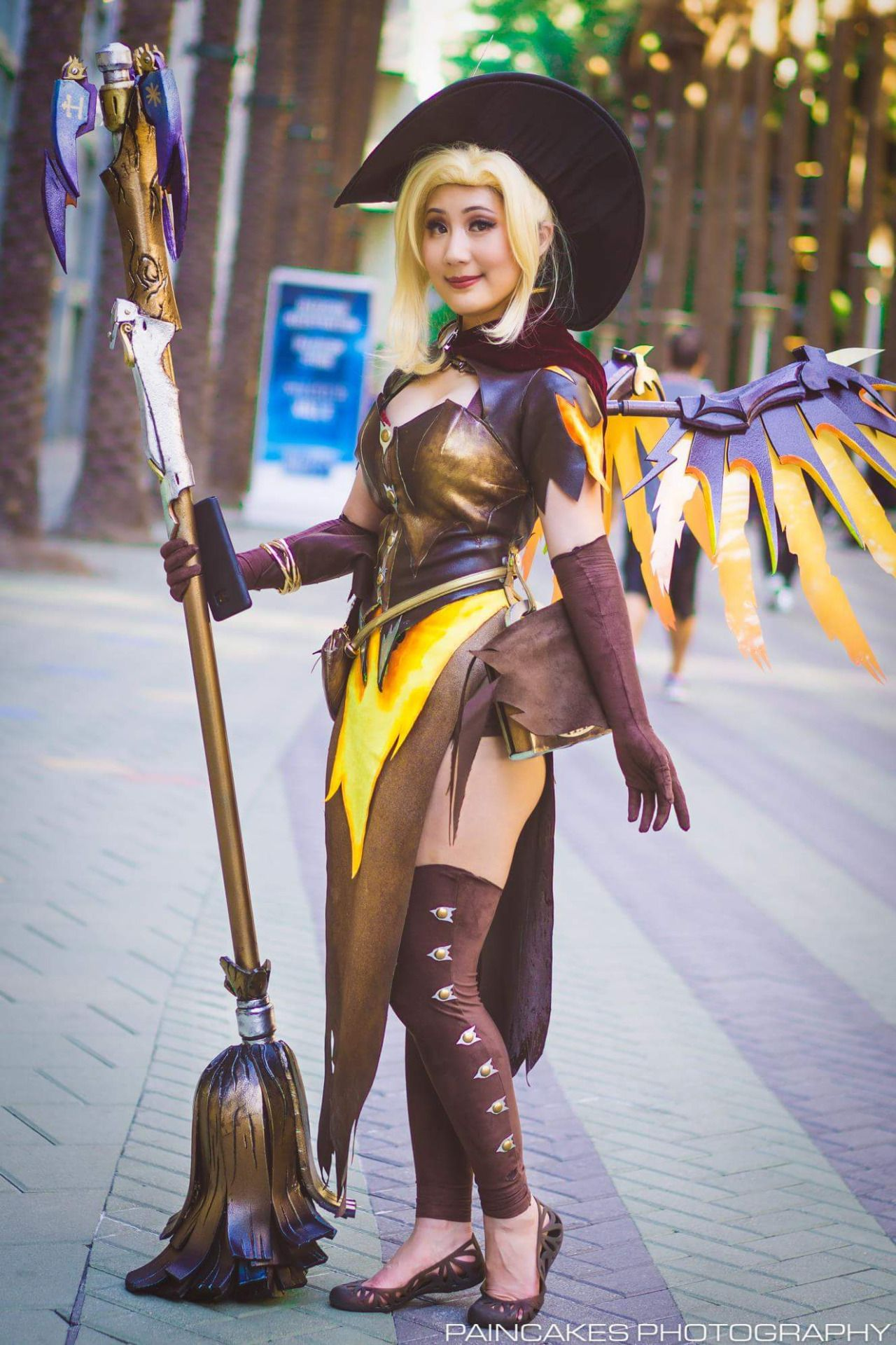 Cosplayer: Livia Chu. Country: United States. Cosplay: Witch Mercy ...