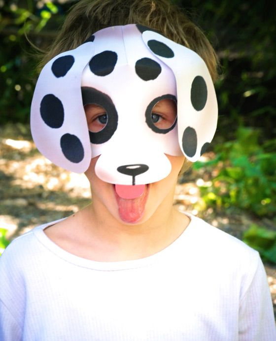 Dog Mask Printable Templates Patterns And Cutouts Only 25 Free Kits Left
