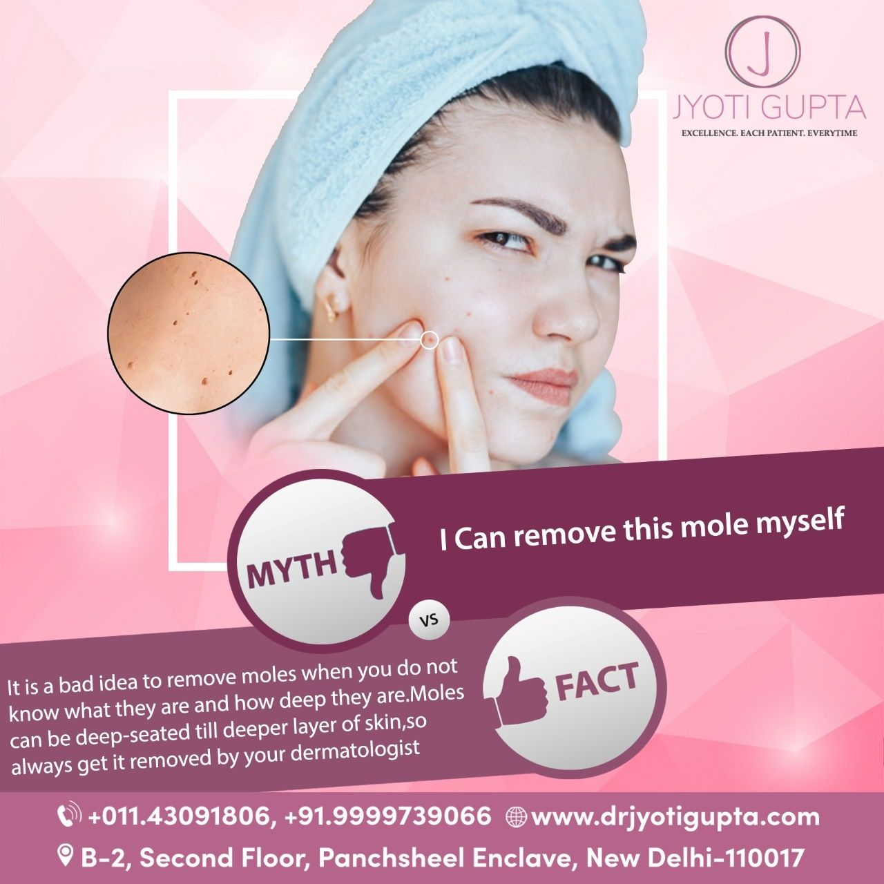 Take Control Of Your Wrinkles And Skincare Https Bit Ly 2mlpq2i At Clinic Dermatech North India S Most Awarded Skinc Skin Clinic Skin Treatments Skin Care