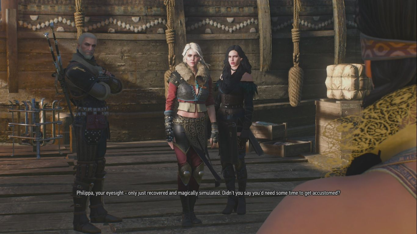 The Witcher 3 Ciri's Alternate Look Costume DLC Location