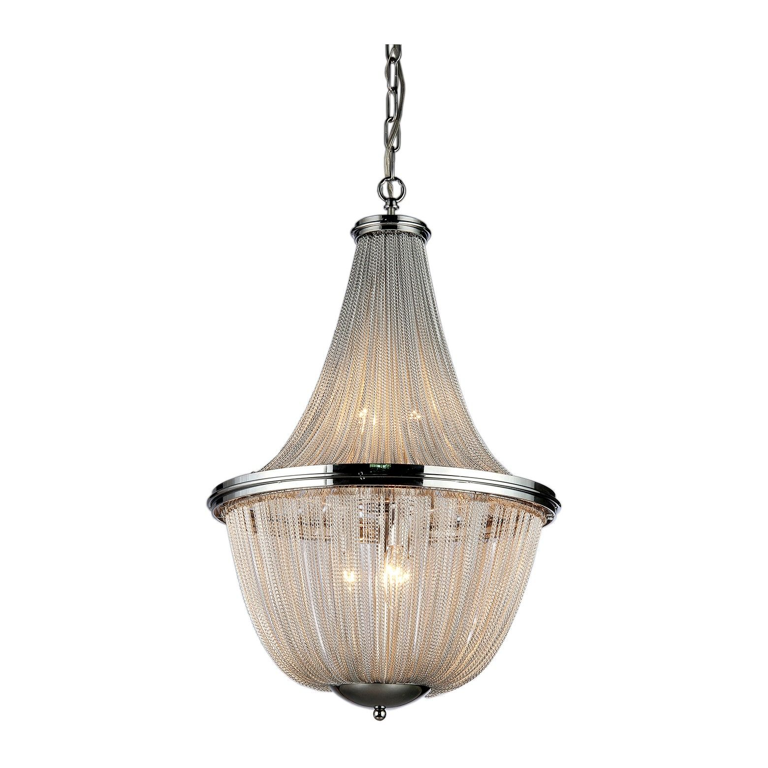 Warehouse Tiffany 18 X 18 X 6 Inch White Ceiling Lights