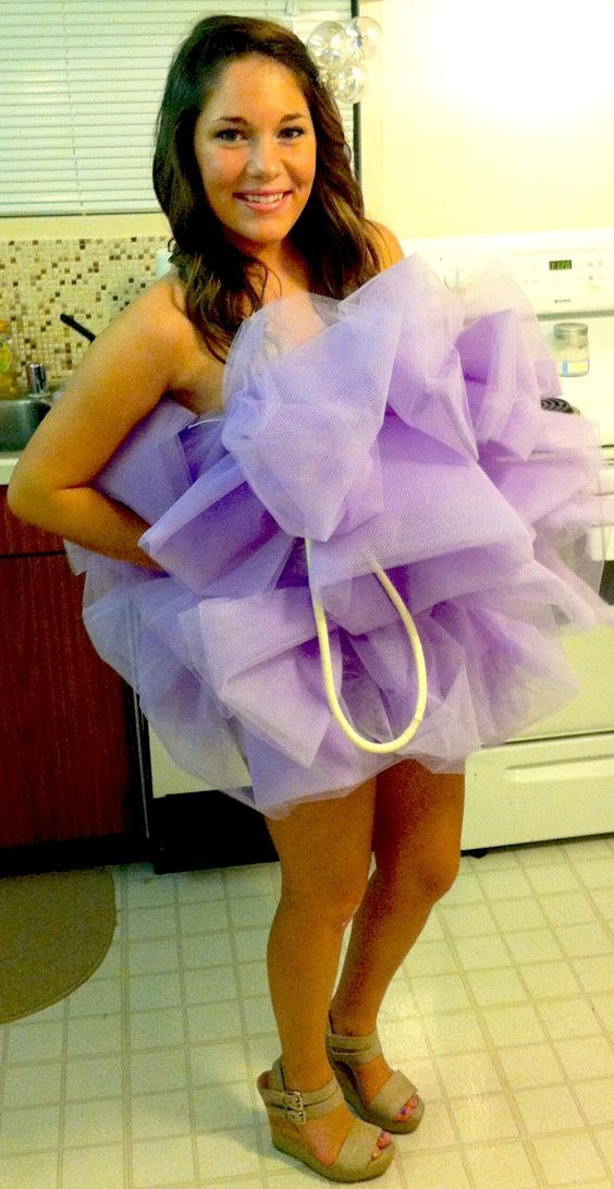 Diy loofah costume loofah halloween costume loofah costume and diy loofah halloween costume solutioingenieria Gallery