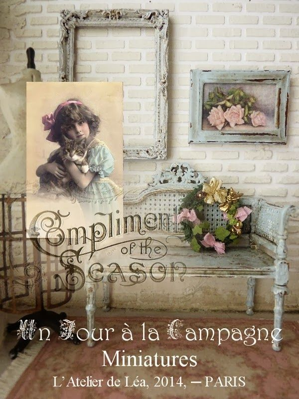 atelier de lea miniatures | Un Jour à la Campagne - Atelier de Léa | Miniatures | Pinterest