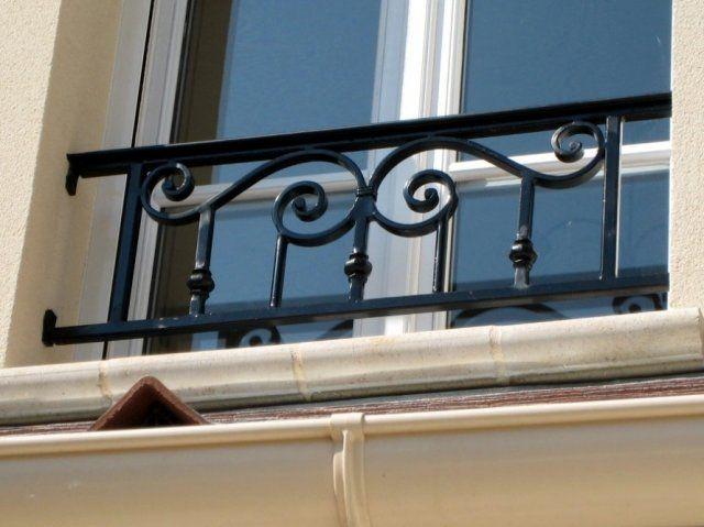 Compagnie Des Ferronniers D Art   Appuis De Fenêtre En Fer Forgé De Style  Classique