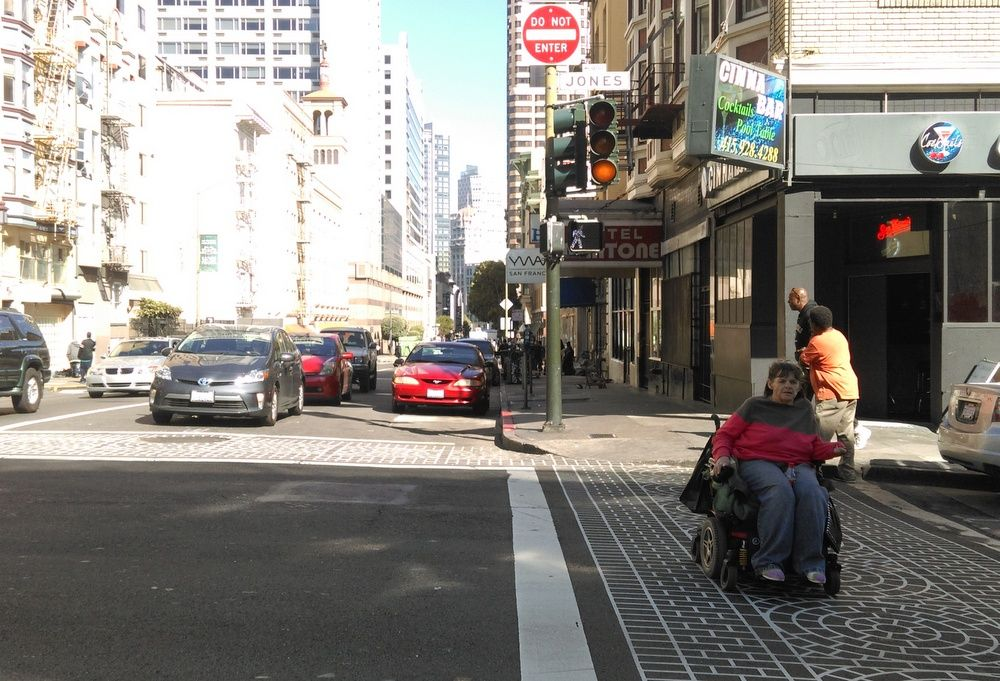 As Tenderloin Crosswalks Get Safer, KPIX Weeps for Lost Parking Spots | Streetsblog San Francisco