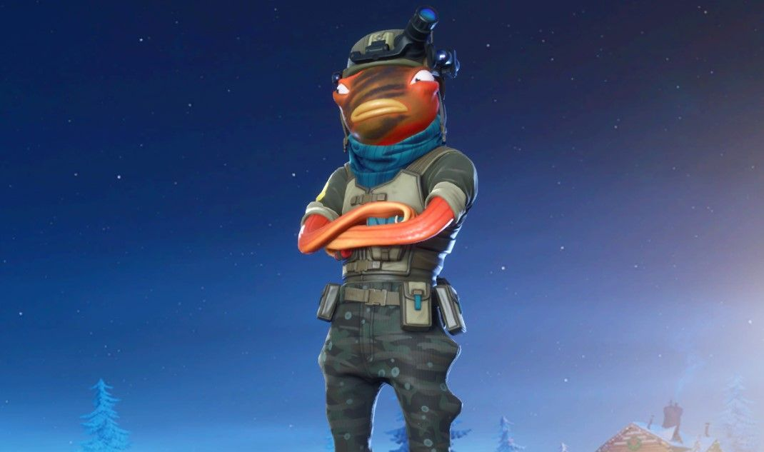 You Have Nine Hours Left To Get The Triggerfish Skin In The Fortnite Item Shop In 2020 Tiger Fish Fortnite Best Gaming Wallpapers
