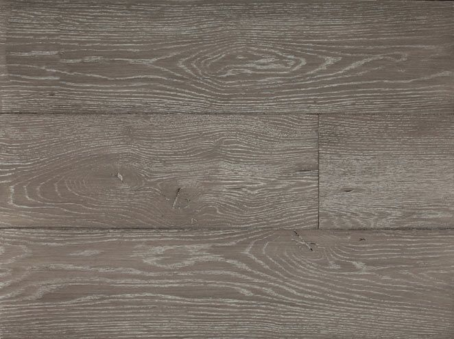 A nice light grey color with a white ceruse, finished in satin. Wood  Flooring ... - LV WOOD- Character/ Brushed Bespoke White Oak Greiner. A Nice