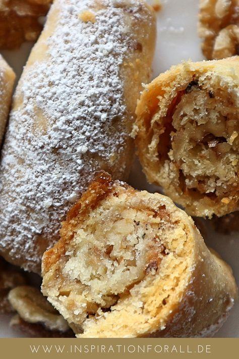 Barmak – einfaches Rezept für leckere Kekse mit Walnuss-Füllung