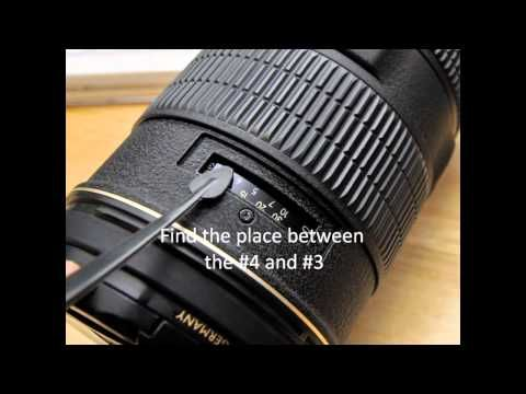 How to Fix Nikon AF-S 80-200mm F2.8 Lens focus issue repair - YouTube