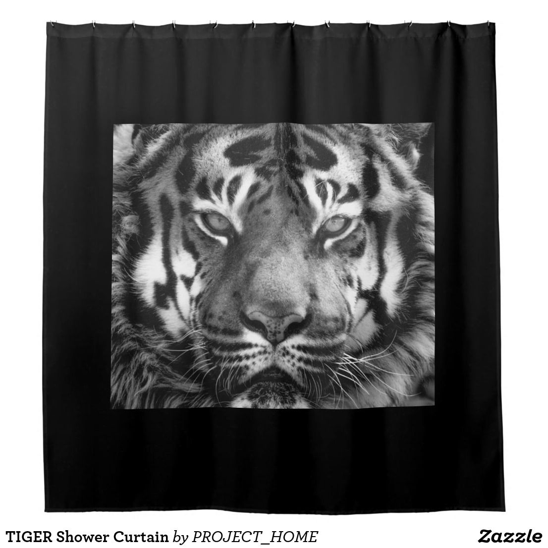 Tiger Shower Curtain Tapestry Shower Curtain Animal Tattoo