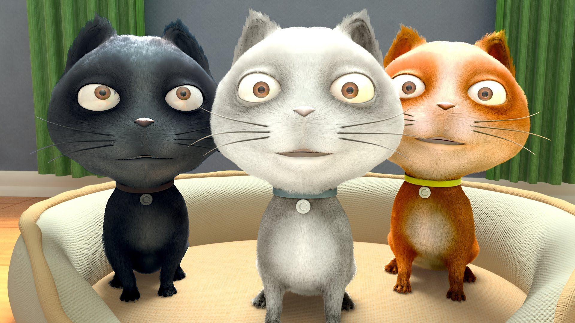 Three Little Kittens Best Compilation Full Hd Nursery Rhymes Looloo Kids Cute Kitten Gif Little Kittens Best Nursery Rhymes