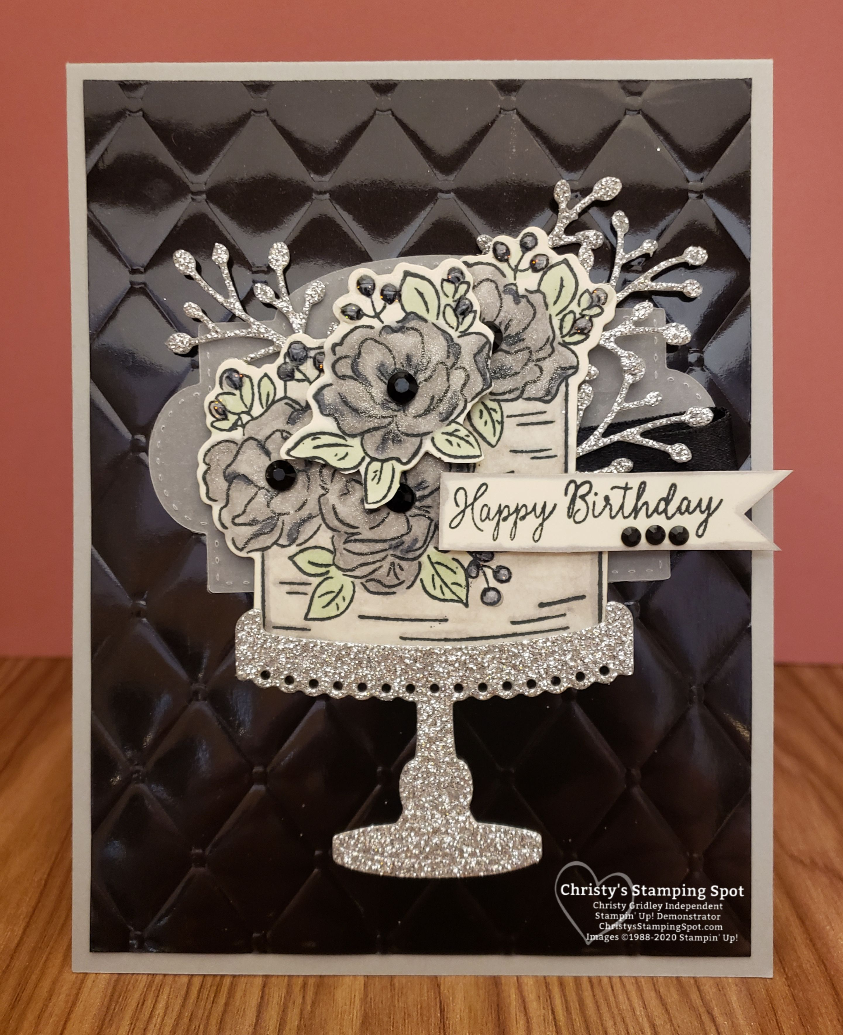Touch Of Gothic Birthday Card Birthday Cards Happy Birthday Gothic Cards