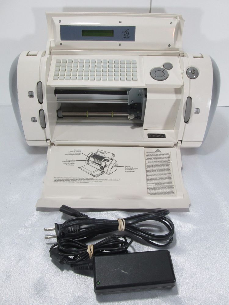 Cricut CRV001 Personal Electronic Craft Cutting Die-Cutting Machine