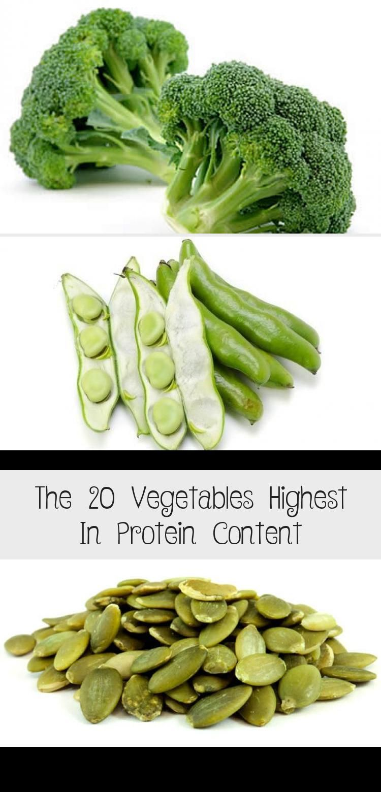 The 20 Vegetables Highest In Protein Content  #health #fitness #dietandnutrition