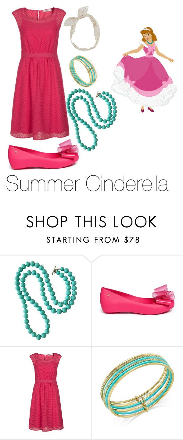 """""""summer cinderella"""" by adisneygirlme ❤ liked on Polyvore featuring Melissa, Kate Spade and Carole"""