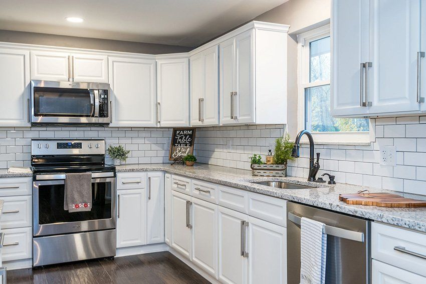 lexington white cabinets | assembled kitchen cabinets