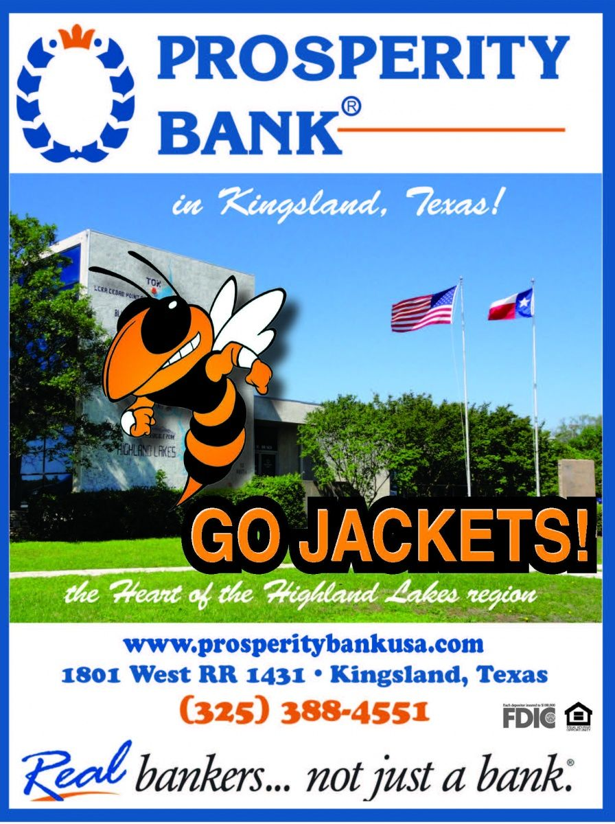 In Kingsland Texas Go Jackets The Heart Of The Highland Lakes