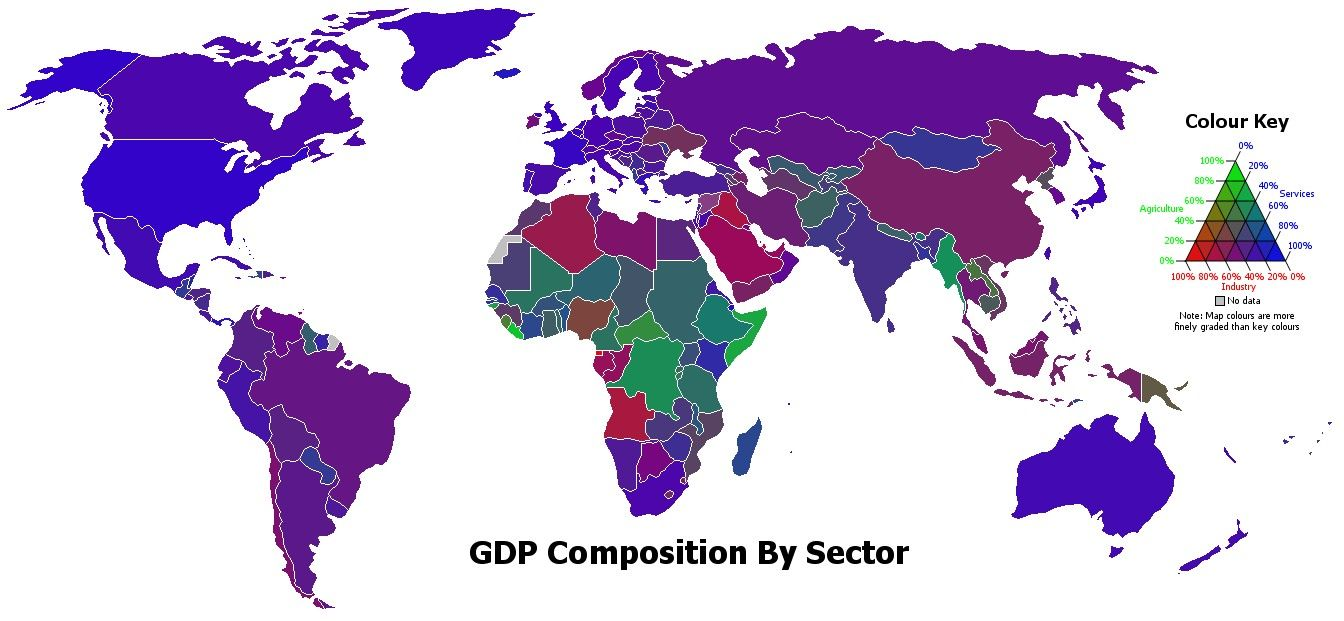 A Primer On The Service Economy Click Thru For Analysis Map