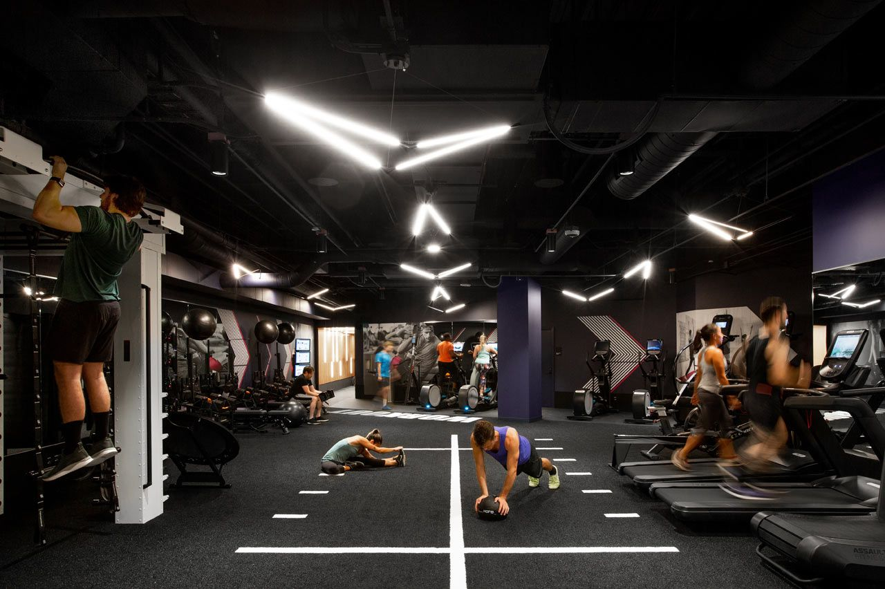A Modern Gym In Seattle You D Actually Like To Workout In Gym Design Interior Gym Interior Gym Design