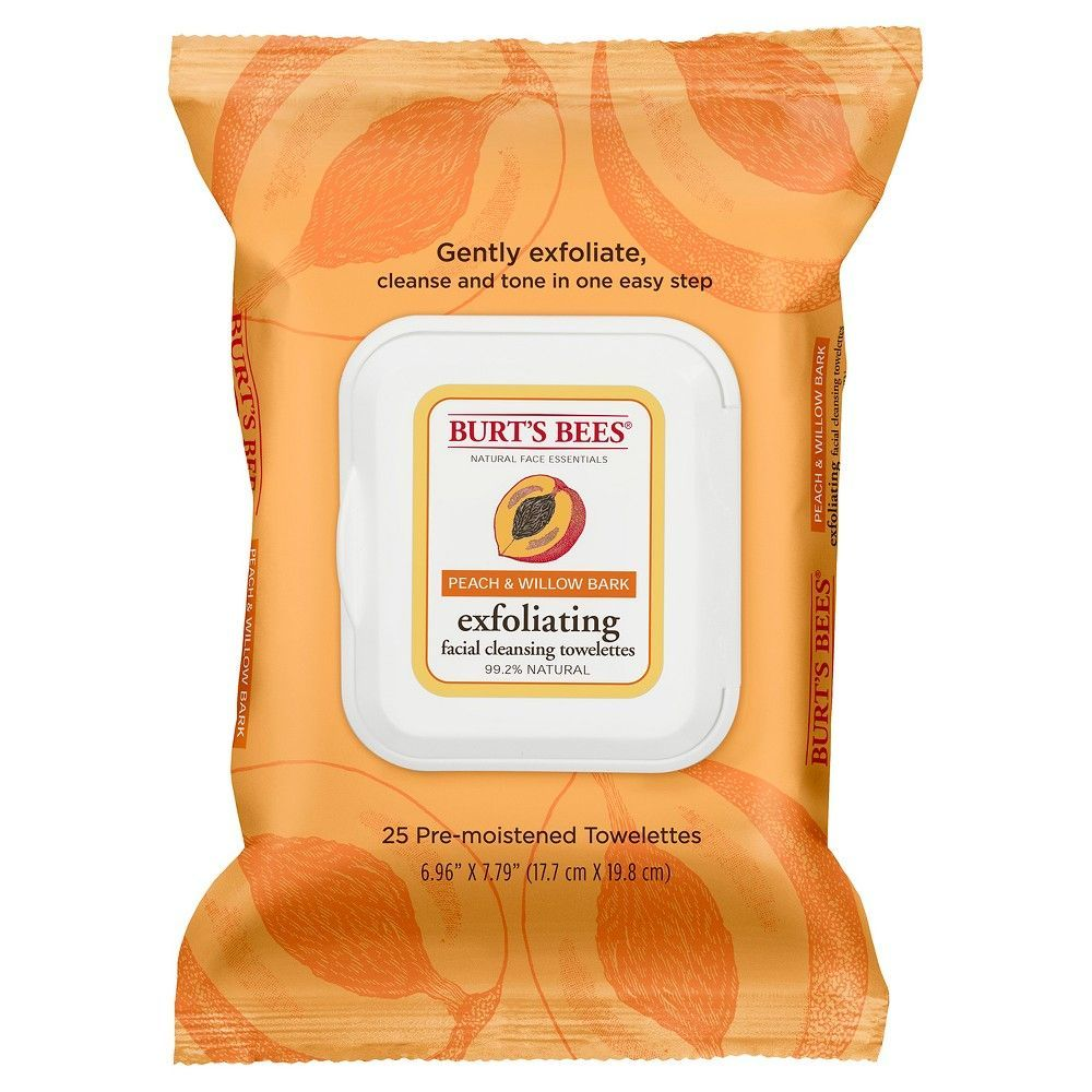 Burt's Bees Peach and Willow Bark Facial Cleansing