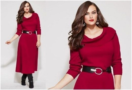 2017 christmas outfits for plus size women 23 party wear